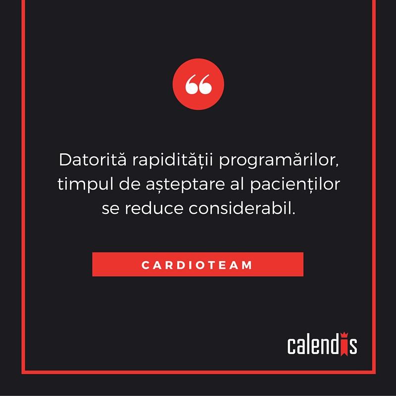 feedback clienti calendis - cardioteam