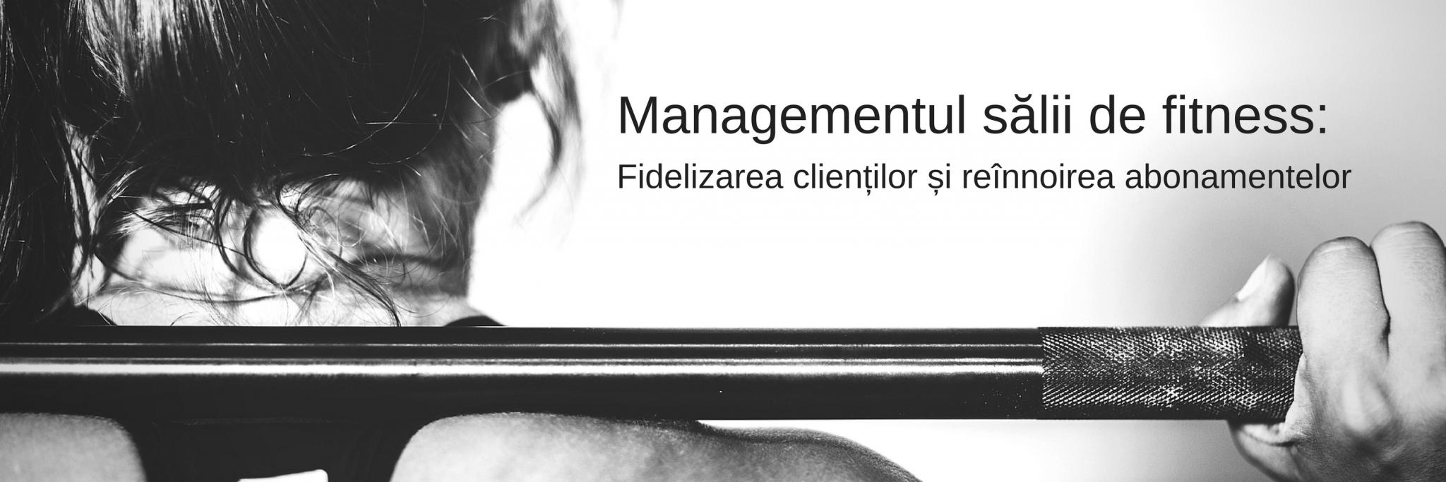 Calnedis Business - Management sala fitness - Abonamente 1